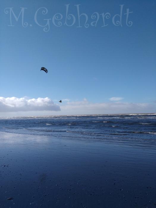 Blauer Himmel, blaues Meer