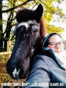 Selfie von Gladur und mir